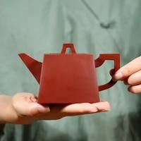 yixing pure manual recommended dahongpao sifang liters penghu glance mesa yishi pot teapot is on sale