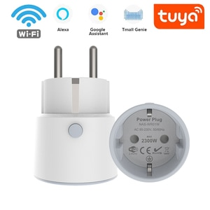 WiFi Smart Plug 10A EU Socket Tuya Smart APP Remote Control Work With Alexa Google Home With Timing Function Smart Home Outlet