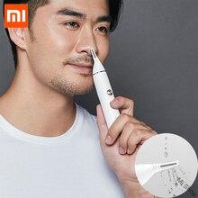 Оригинальный Xiaomi Mijia Soocas IPX5 Водонепроницаемый триммер для волос в носу клипер для бровей острое лезвие беспроводной носовой очиститель для мужчин wo мужчин