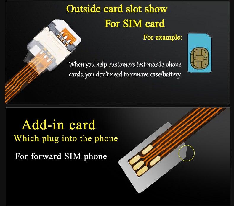 Многофункциональная большая SIM-карта адаптер для SIM-карты торговое оборудование мобильный резервный sim Gsm usb Sim-накопитель