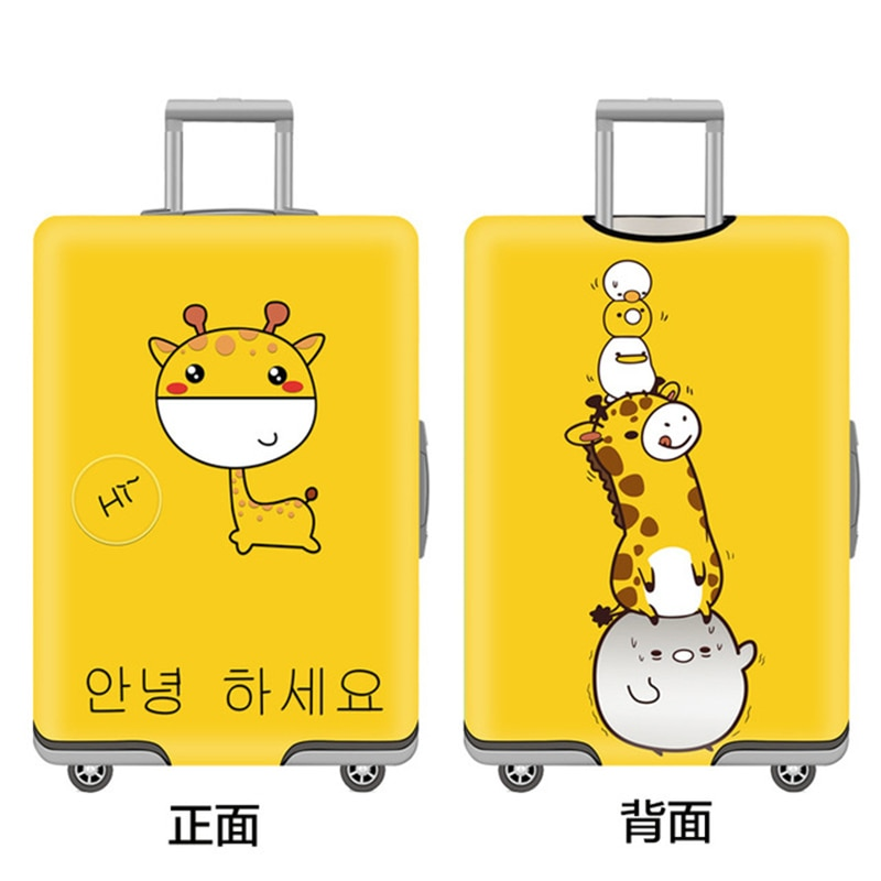 Travel Suitcase Dust cover  Luggage Protective Cover  For 18-30 Inch  Trolley Case Dust Cover Travel Accessories