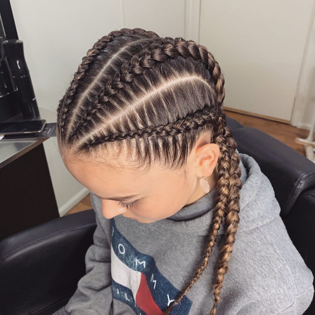 Box Braid Wigs Wig Braids African Synthetic Lace Wigs For Black Women Handmade Blonde Wig With Baby Hair 24Inches Braided Wig