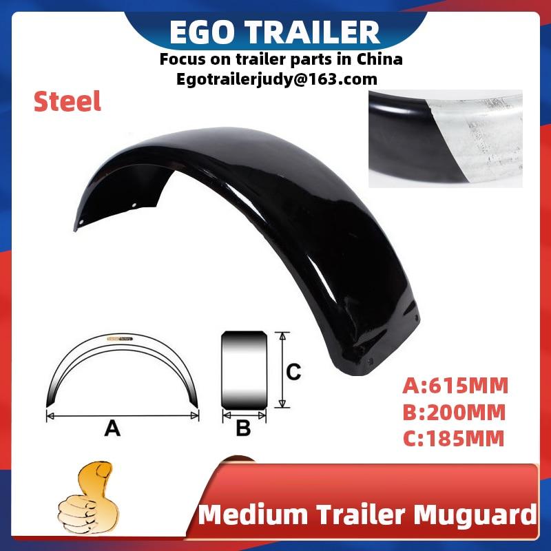 EgoTrailer 2 шт. стальной брызговик для прицепа крыло крышка для прицепа колеса 12