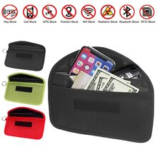 Signal Shield Bag Lightweight Portable Signal Blocking Pouch Wallet Case for Cell Phone Car Key FOB