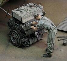 1/35 infanterie homme ancien au travail (sans moteur) figurine en résine maquettes miniatures gk non assemblées non peintes