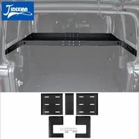jidixian rear racks car tailgate trunk storage rack luggage shelf accessories for jeep wrangler jk jl 2007 2018 2019 2020 2021