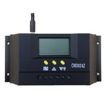 CM3024Z 12V/24V 30A LCD Plug In Regulator Charge Mode Genetator Voltage Solar Controller PWM