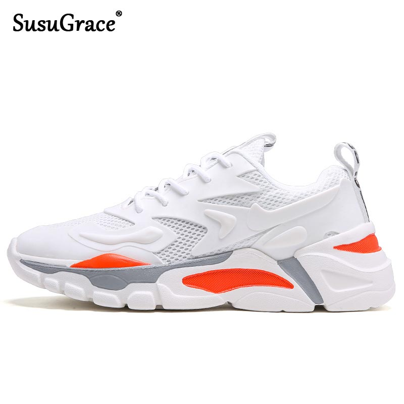 SusuGrace 2021 Men Running Sneakers Outdoor Breathable Jogging Shoes Quality Athletic Male Footwear