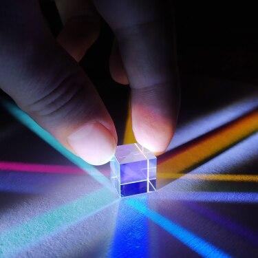 18*18*18 мм шестигранные Яркий 18 мм светильник куб подарок оптический сплиттер Prism для детского Популярные научных экспериментов