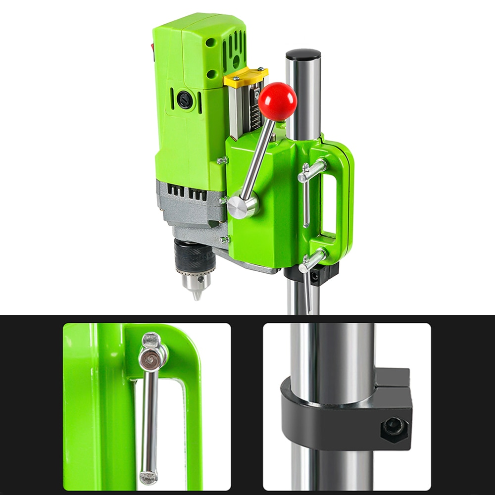 OMY Mini Bench Drill 710W Bench Drilling Machine Variable Speed Drilling Chuck 1-13mm for DIY Wood Metal Electric Tools BG-5156E enlarge