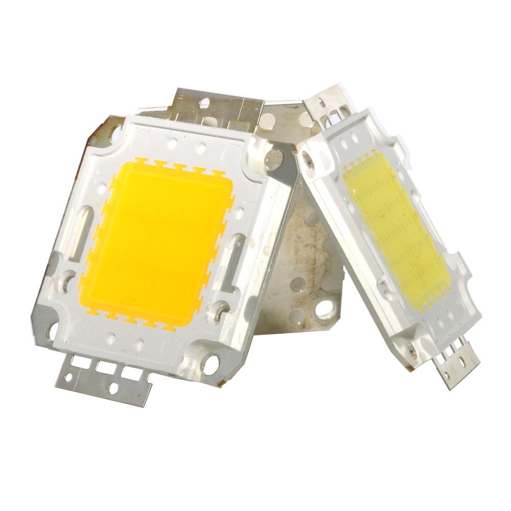 10/20/30/50/70/100W DC 12V 36V COB module LED Chip Diodes Lamp Bulb for outdoor focus Spotlight Garden Integrated Light Beads