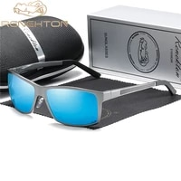 renekton 2020 mens sunglasses aluminum magnesium polarized driving mirror eyewear for menwomen uv400 oculos