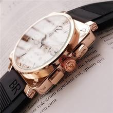 Swiss Military Watch BELL&ROSS Luxury Brand Men Watch Fashiong Deasigner Chronograph Quartz Clock