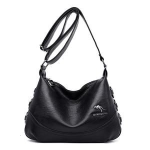 High Quality Women Crossbody Bag Soft Leather Shoulder Bag Fashion Brand Designer Handbags Casual Messenger Bag bolso mujer