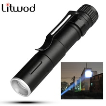 Mini linterna LED ZOOM 7W Q5 1000LM linterna impermeable linterna LED Zoomable batería AAA Led para Camping bombillas LED de emergencia
