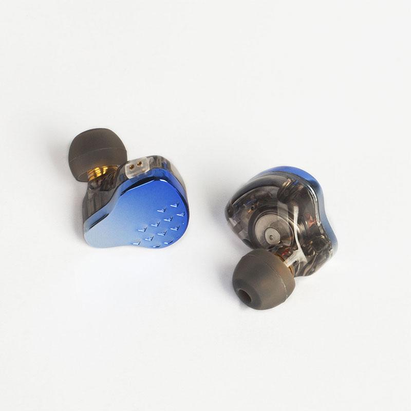 KBEAR Robin 10mm 1DD +4BA Hybrids In-Ear Monitors 2Pin 0.78mm Earphone Zinc Alloy Electroplated Cover Earbuds Upgrade KBEAR Lark enlarge