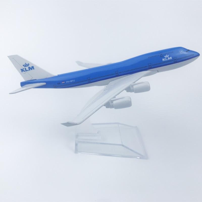 "KLM Royal Dutch Airlines Flugzeug Diecast Flugzeug Modell 6 ""Metall Flugzeug Flugzeug Home Office Decor Mini Moto Spielzeug für kinder"