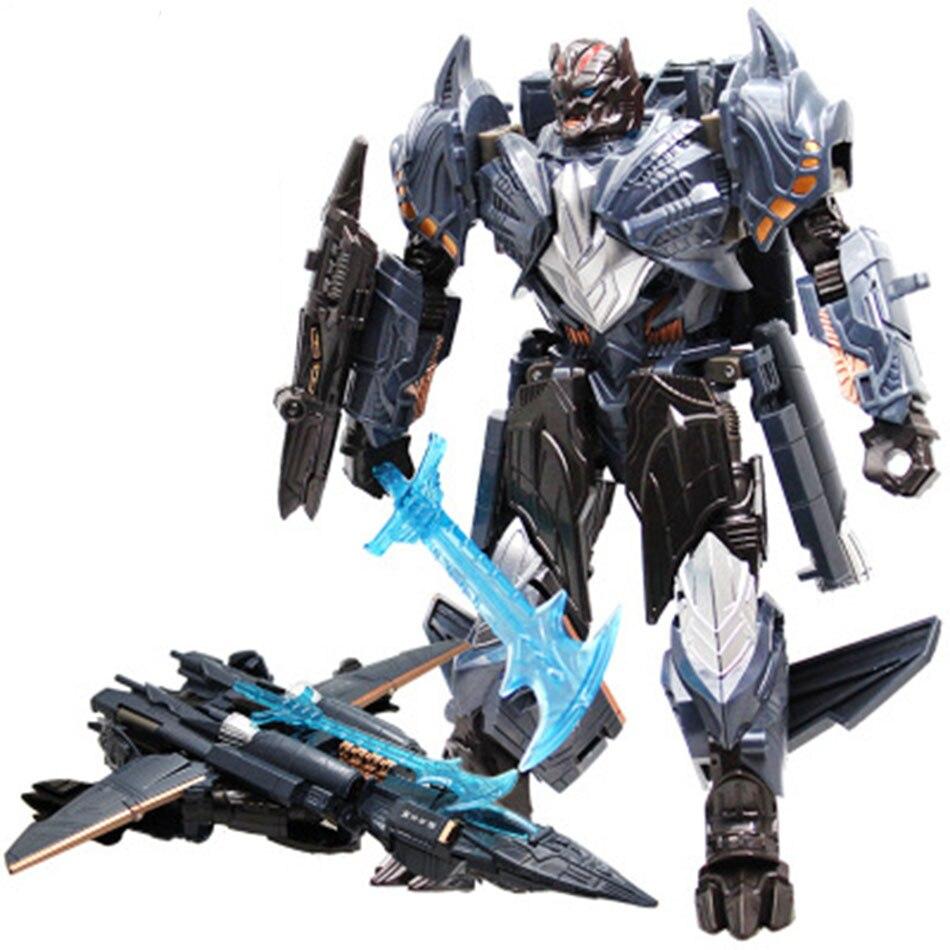שינוי רובוט רכב סרט צעצוע פעולה דמויות רובוטריקים Umblebee Optimus ראש מטוסי דינוזאור דגם צעצועי ילדים מתנה