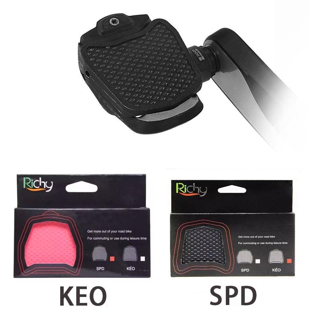 Accesorios Para pedales de bicicleta de carretera, gran oferta, spd/keo, SPD y...