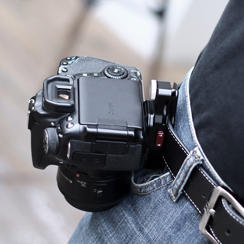 Ulanzi Claw Quick Release Plate Clamp Mount Plate Board Shoulder Strap Clamp Adapter for DSLR Gopro Action Camera Tripod Adapter enlarge