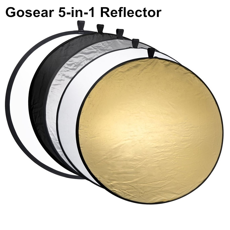 AliExpress - Gosear 60cm Portable Collapsible Round Camera Lighting equipment Photo Disc Reflector Diffuser Kit Carrying Case Photography