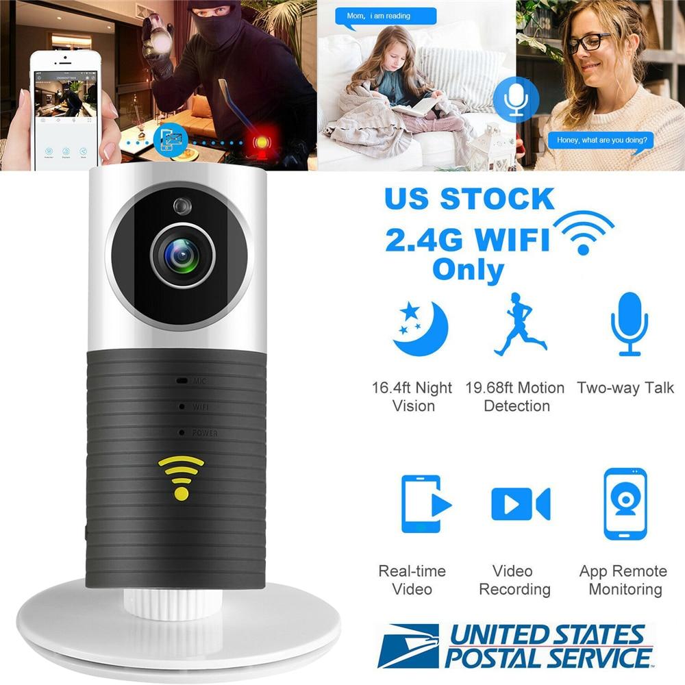 كاميرا مراقبة الطفل المنزلية الداخلية 720P HD لاسلكية صغيرة تعمل بالواي فاي كاميرا ip ذكية للرضع الكلب فيديو أمن الوطن في اتجاهين صوت ورؤية ليلي...