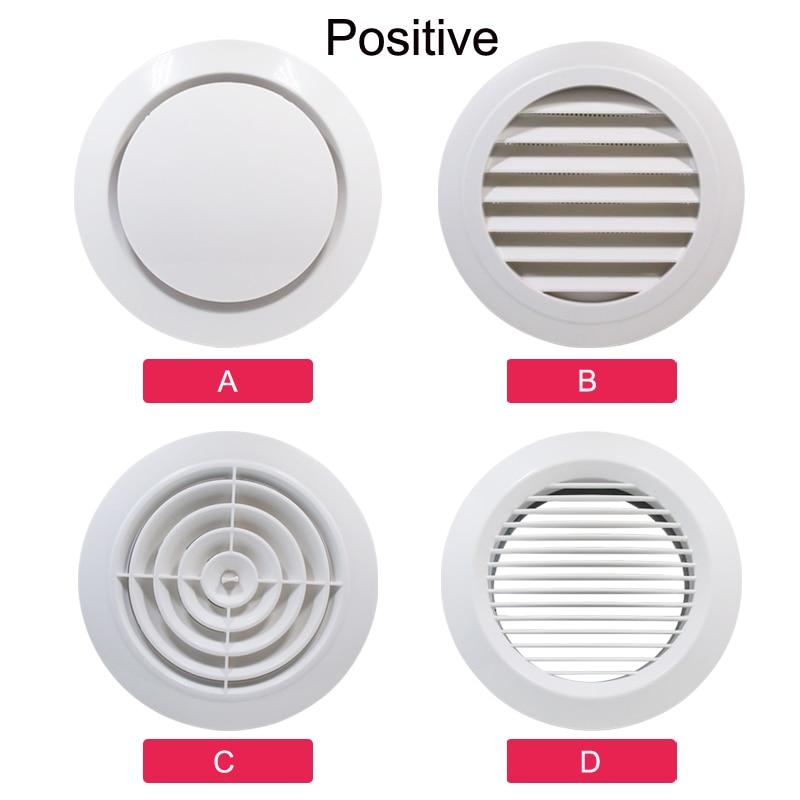Решетка вентиляционного отверстия для кухни, вентиляции, вентиляции, вентилятора, ванной комнаты, настенное крепление