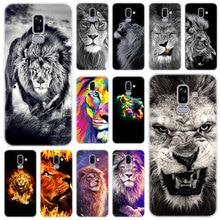 Roi des animaux chauds lion étui en Silicone pour Samsung Galaxy J2 Pro J4 Plus J6 J7 Prime J8 2018 J4 Core J3 2016 J5 2017 couverture ue