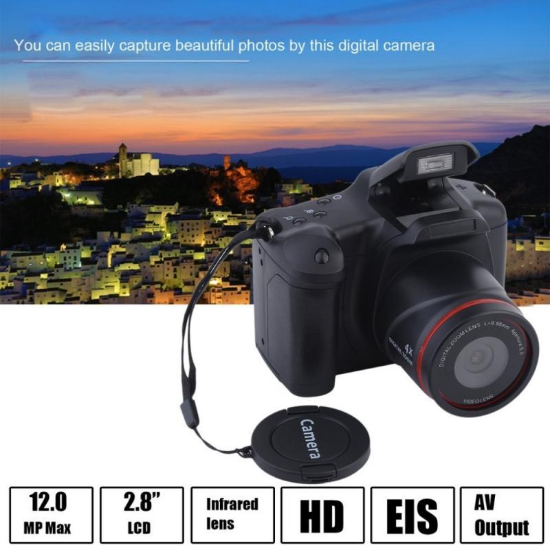 Portable HD 1080P Digital SLR Camera Camcorder Full Video Camera 16X Zoom HD Video Recorder Photo Ca
