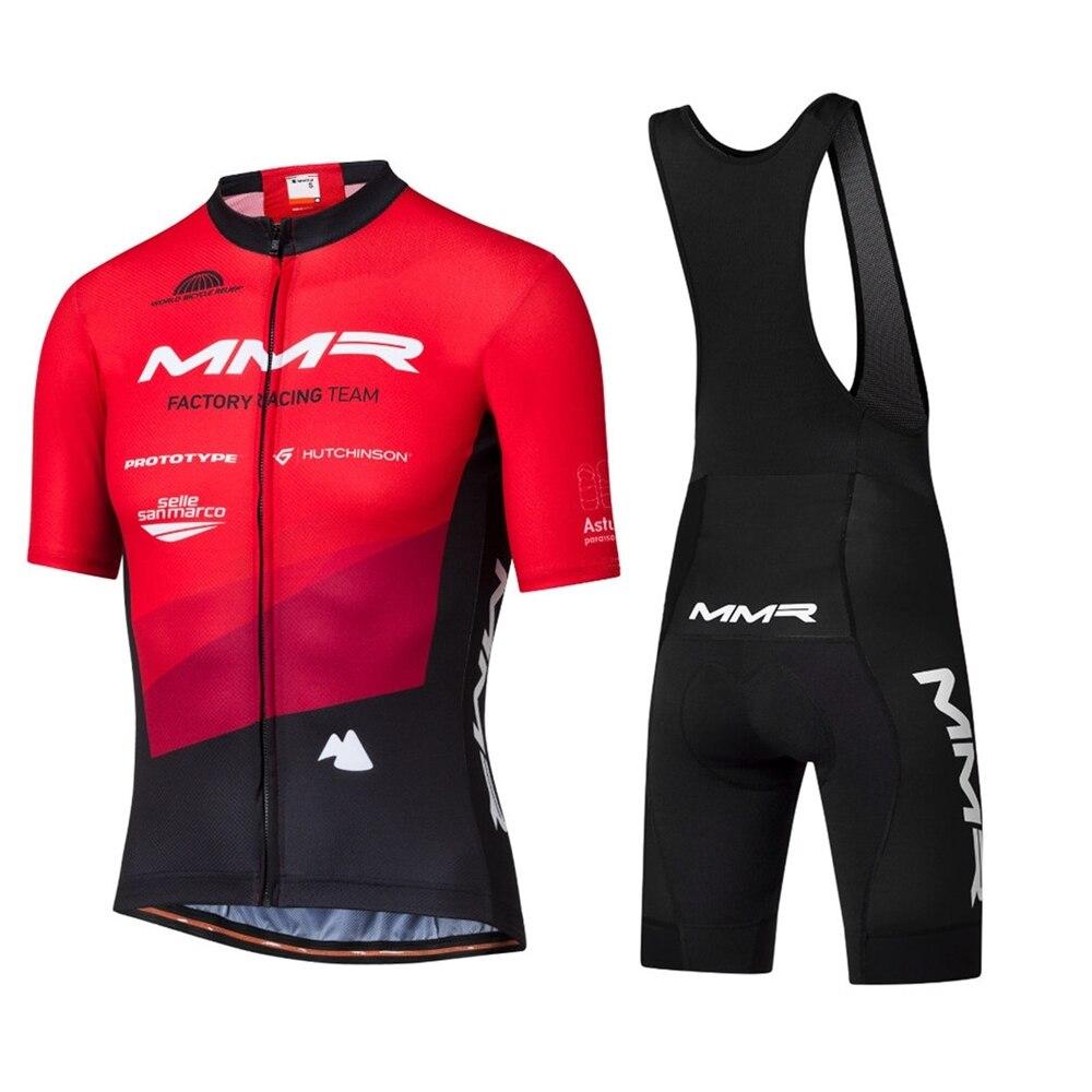 Ropa de hombre de MMR 2020 Pro equipo ciclismo jersey corto kit...