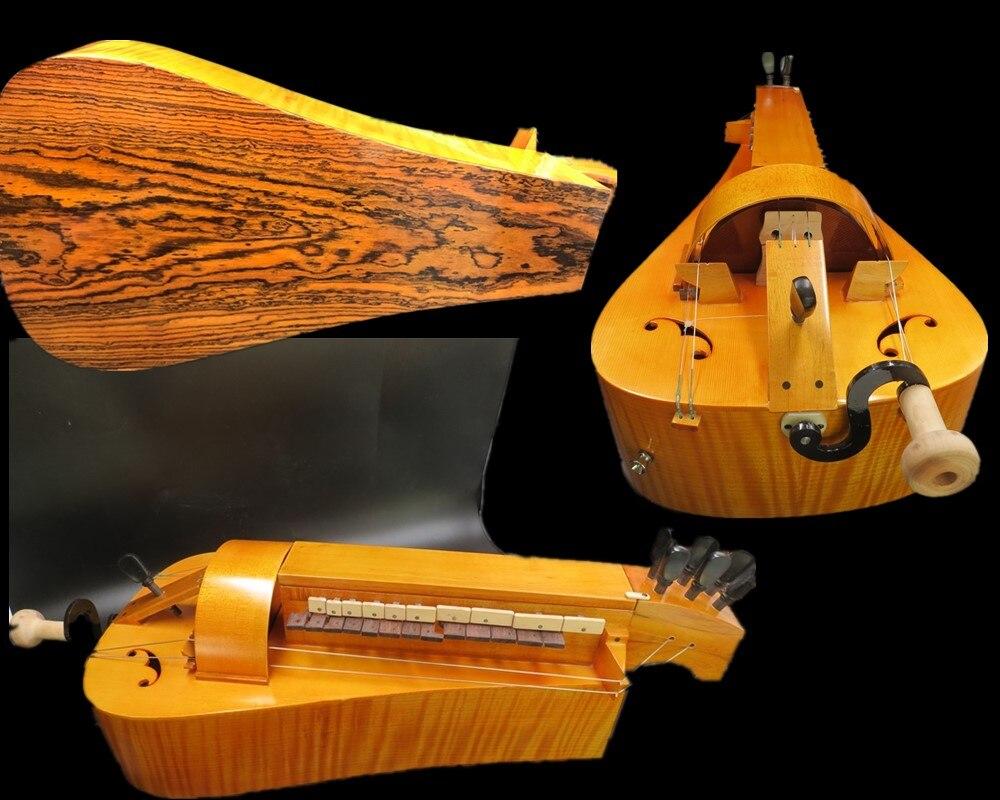 Capullo de madera de arce hecho a mano, 6 cuerdas, 24 llaves,...