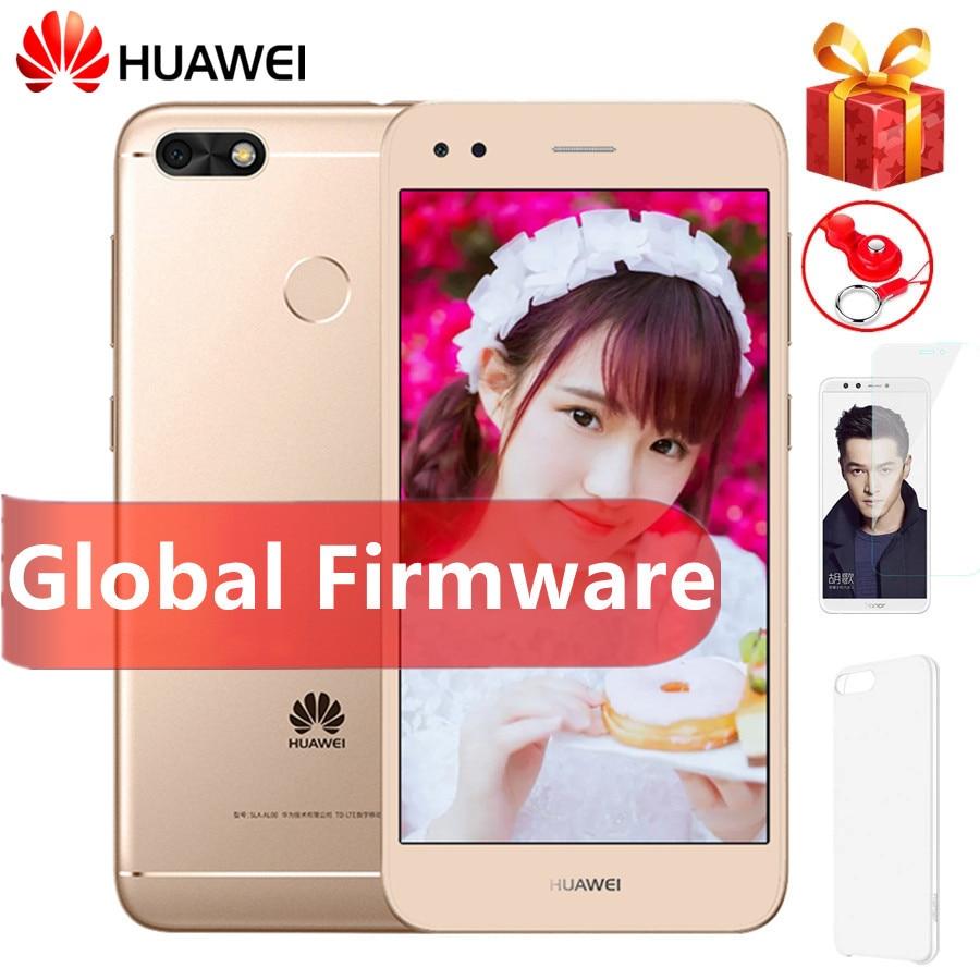 HUAWEI Y6 PRO 2017 смартфон с четырёхъядерным процессором Snapdragon 425, ОЗУ 3 ГБ, ПЗУ 32 ГБ, 13 МП, Android 7,0, отпечатком пальца, 4G LTE, мобильный телефон