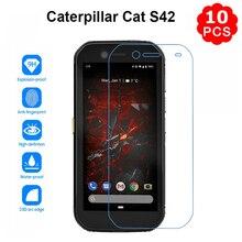 "10Pcs Gehärtetem Glas für Caterpillar Cat S62 Pro S62Pro 5.7 ""Screen Protector Film Für Cristal Katze S61 S 61 Pelicula De Vidrio"