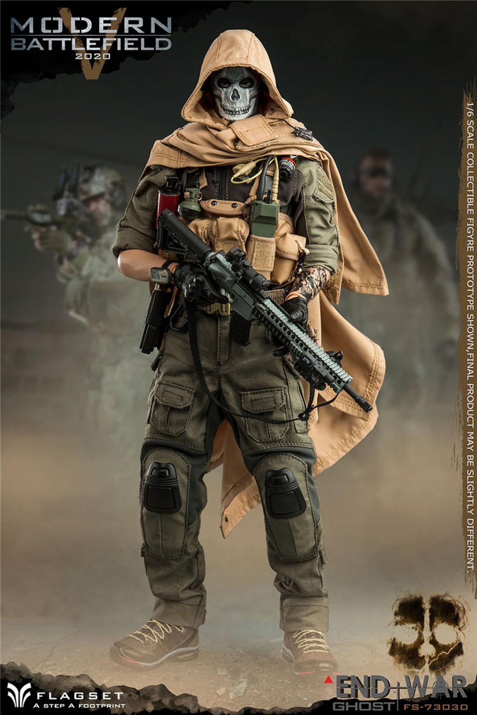 FLAGSET FS73030 Doomsday End War, escuadrón de la muerte, juego moderno de batalla V, juguete de fantasma 16