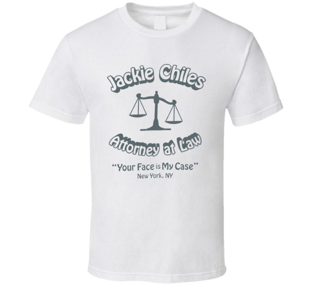 Seinfeld Jackie Chiles abogado TEE Casual orgullo camiseta hombres mujeres Unisex nueva moda camiseta envío gratis tops ajax