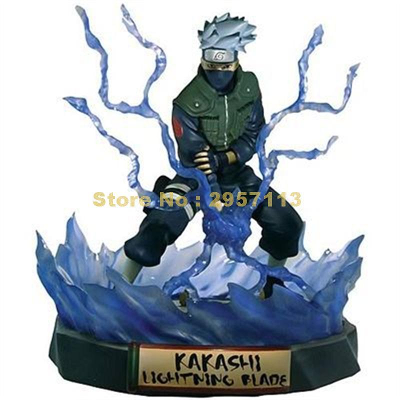 Anime naruto ninja skill hatake kakashi san-bo versión limitada pvc figura muñeca modelo 19cm juguete