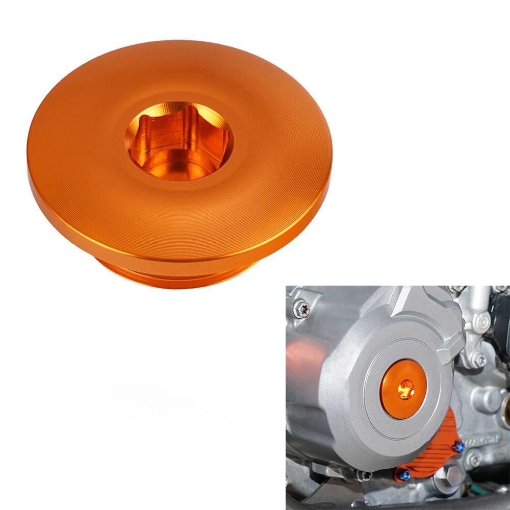 Motorrad CNC Motor Zündung Abdeckung Stecker Für KTM 250 350 450 505 SXF EXCF XCF XCFW SMR FREERIDE 250 350 ADV 790 950 990 1090