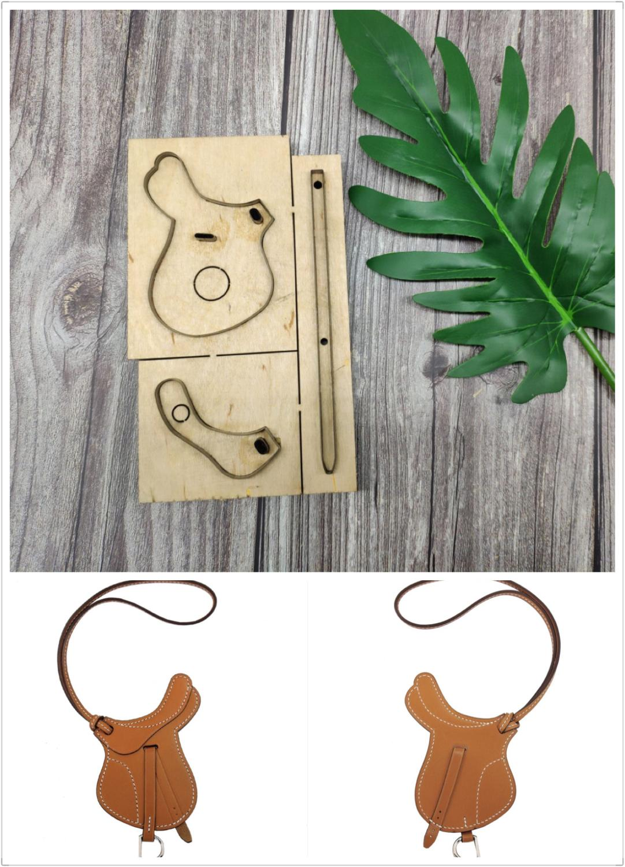 Japan Stahl Klinge Regel Gestanzte Stahl Punch Anhänger Schneiden Form Holz Stirbt für Leder Cutter für Leder Handwerk 100x80mm