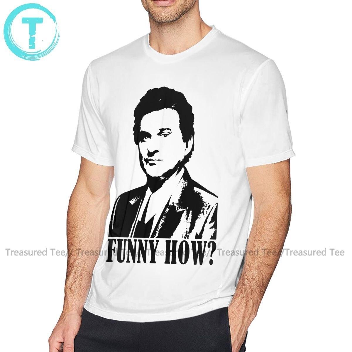 Camiseta goodfells, camiseta divertida con estampado de Good Fells, Joe Pesci, camiseta grande para hombre, camiseta 100 de algodón