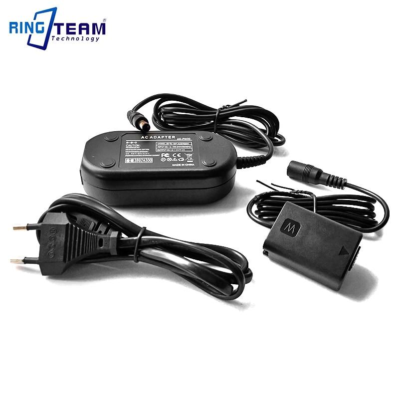 Adaptador de alimentación de CA AC-PW20 PW20 PW20AM para Sony Alpha 3 5 7 A7 A7ii A7S A7R NEX A33 A55 A65 A5000 A6000 A6300 A6500 A7000 cámaras