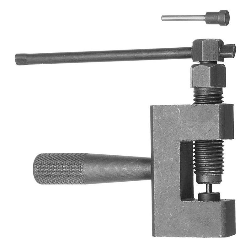 Quente 1 pçs corrente disjuntor link splitter pino removedor ferramenta de reparo adequado para motocicleta/bicicleta/atv correntes