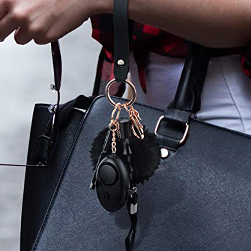 Женский уличный защитный комплект с сигнализацией, портативный фонарик, фотовспышка для девочек, защита для детей, личная безопасность T6c3