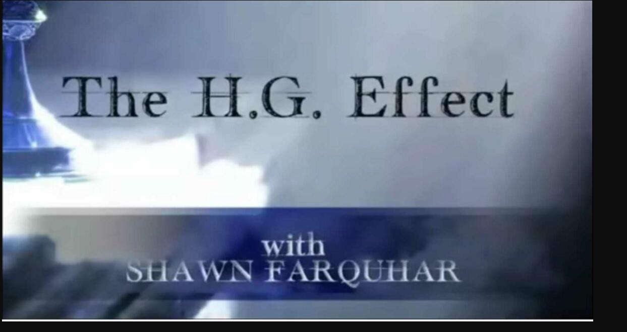 H.G. Etkisi Shawn Farquhar, sihirli hileler (sahne)