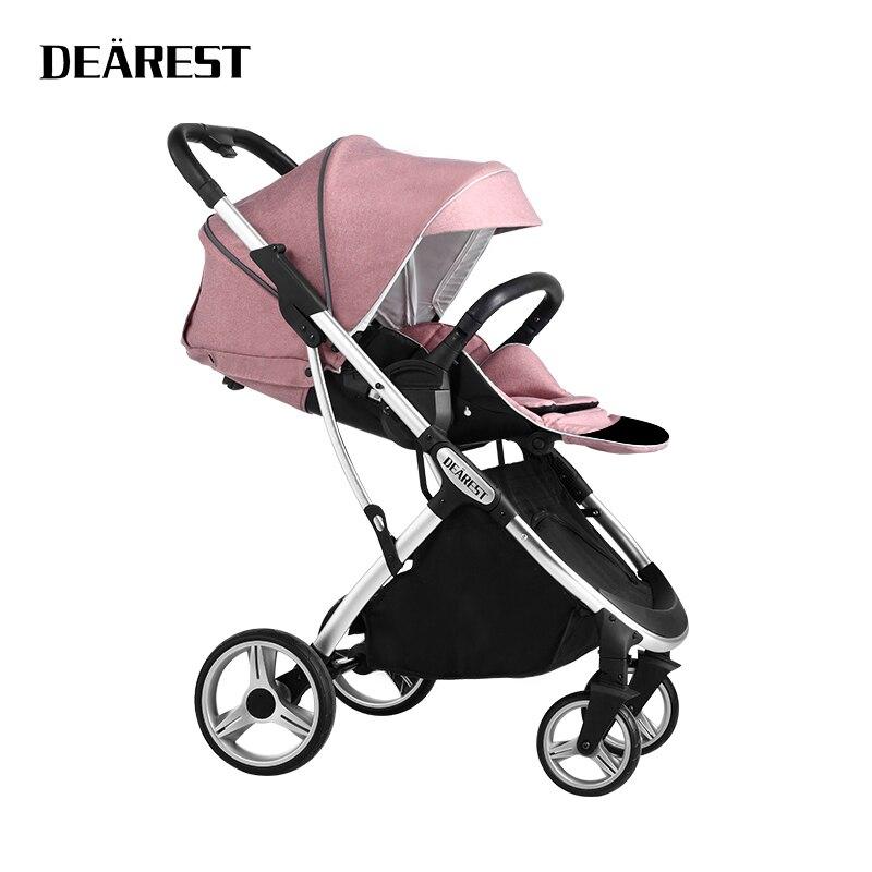 LIEBSTE 1108 Baby hoch landschaft kinderwagen 2021 neue schnelle lieferung kostenloser lieferung Kinderwagen mit vier Rädern    -