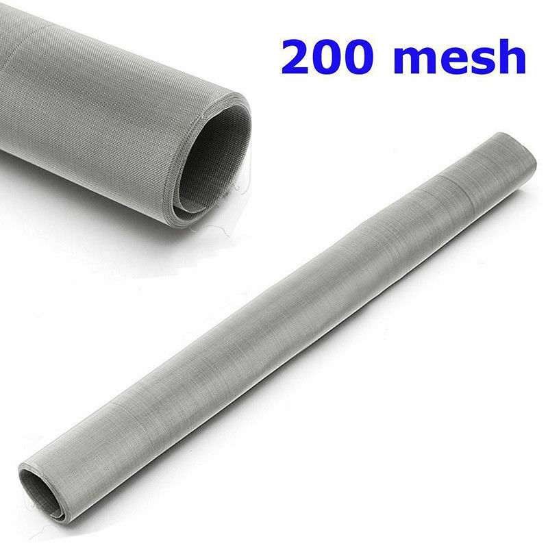 200 Mesh 75 Micron 304 Stainless Steel Fine Pollen dry Ice Screen 12x24