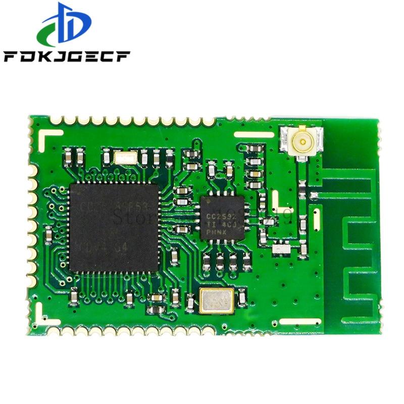 CC2538SF53RTQR CC2538 + CC2592 PA Zigbee Drahtlose Modul CC2538SF53 High power 2,4 Ghz wireless modul