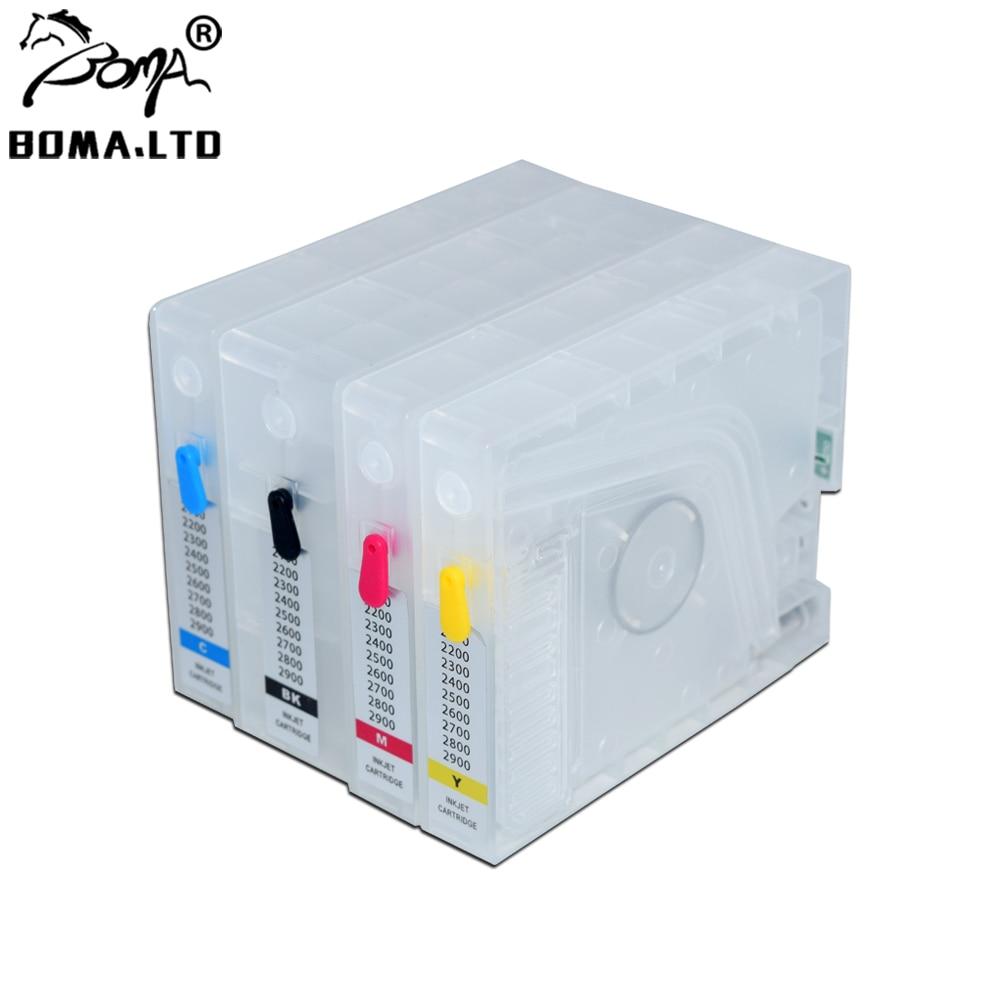 BOMA.LTD PGI-2700 XL ARC رقاقة خرطوشة حبر الملء لطابعة كانون PGI 2700 maximfy IB4070 MB5170 MB5470 IB4170 MB5370 MB5070