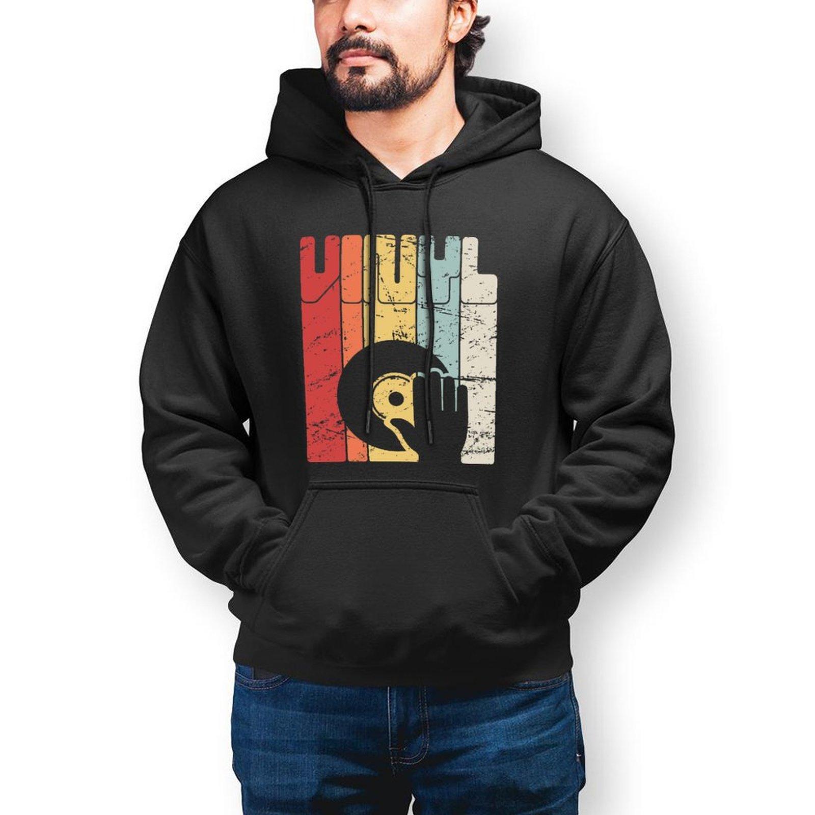 Толстовка с капюшоном для диджея, теплая хлопковая толстовка, популярный Свободный пуловер с длинным рукавом, Толстовка для мужчин X