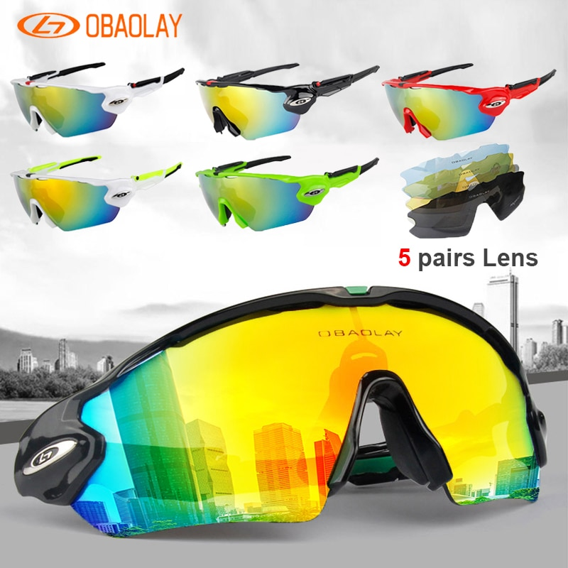 Polarised Cycling Glasses MTB Sports Glasses Bike Goggle Eyewear Bicycle Sunglasses Outdoor For Man