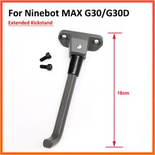 Extended Parking Stand Kickstand For Ninebot MAX G30 G30D Electric Scooter Foot Support DIY Replacem